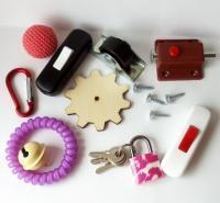 Материалы для изготовления бизикубиков