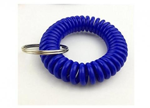 Браслетик - пружинка (синий)